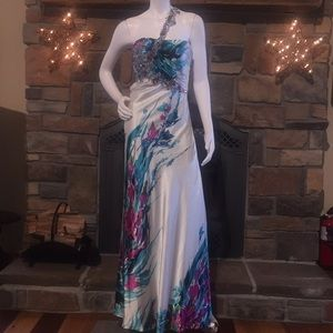 Cinderella satin evening, Prom dress